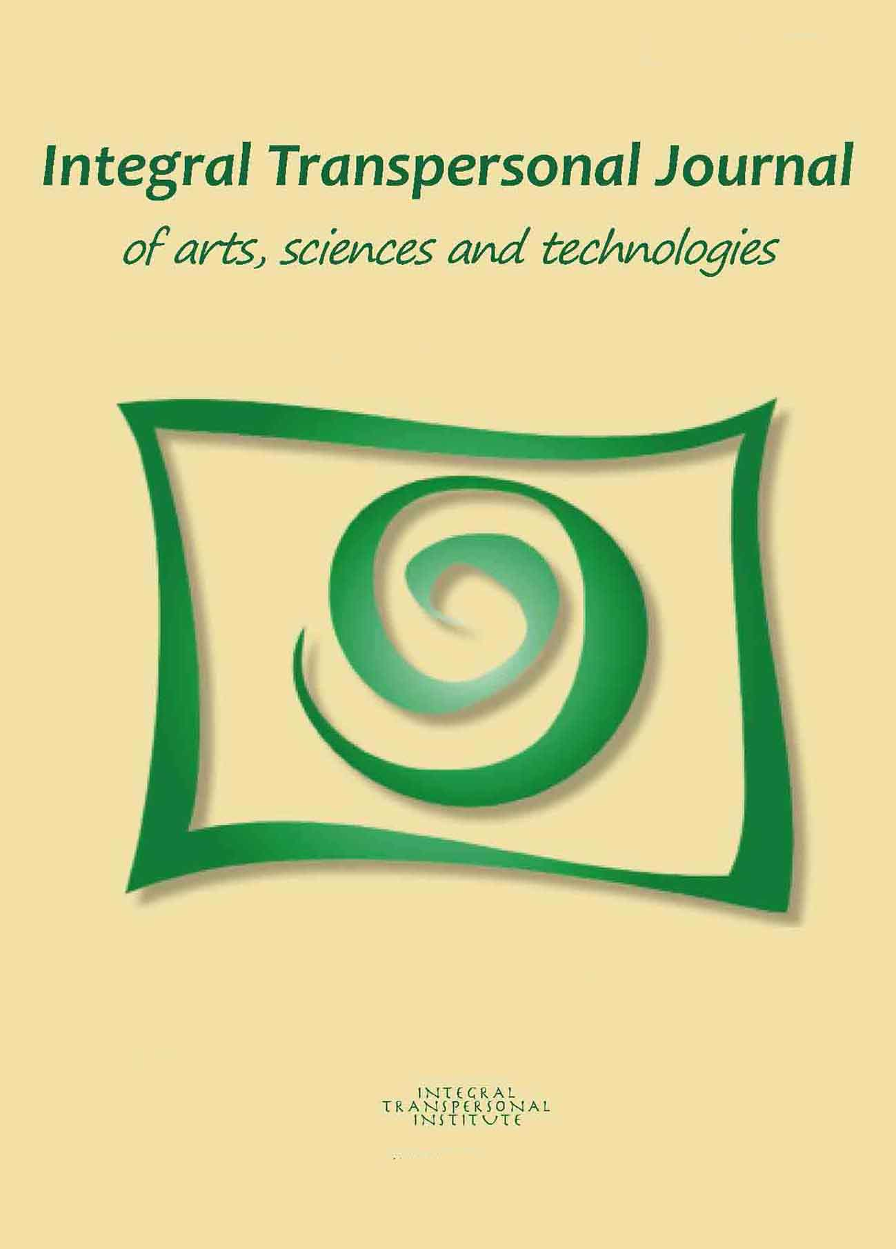 Integral Transpersonal Journal (ITJ) n. 0